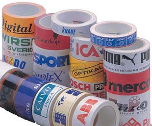 Tape med logo